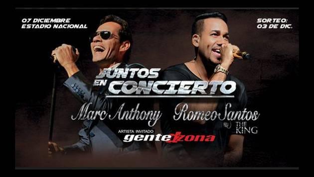 Conoce a los ganadores de las entradas - JUNTOS: MARC ANTHONY & ROMEO SANTOS