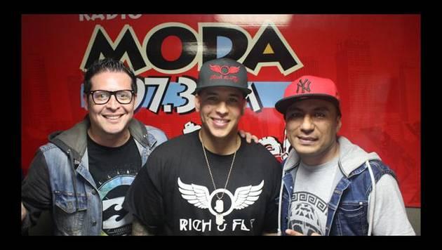 Daddy Yankee: entrevista en Radio Moda 2015