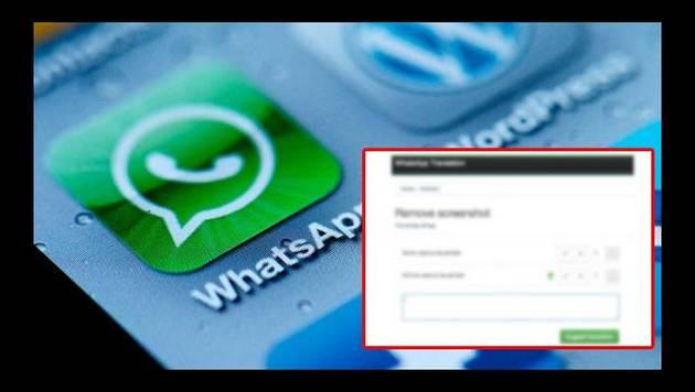 Whatsapp filtró función de screenshot