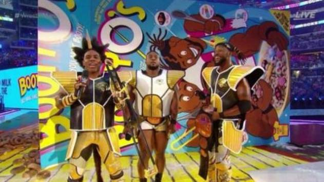 ¿Dragon Ball en WrestleMania 32? The New Day sorprendió con estos trajes
