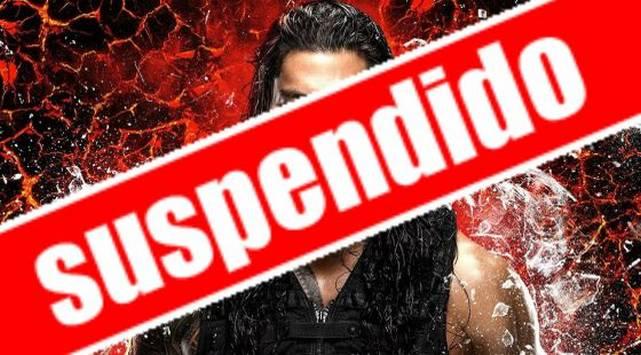 ¡Noooooooo! La WWE suspendió a una de sus estrellas por...