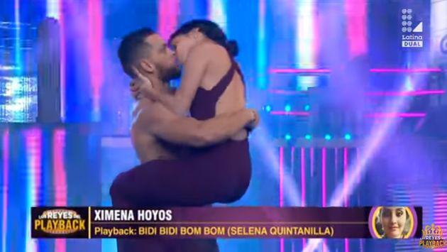 ¡Ximena Hoyos se chapó a bailarín en su regreso a 'LRP'!