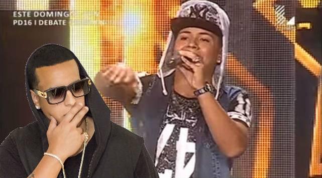 Se preparó dos años para imitar a Daddy Yankee y así le fue