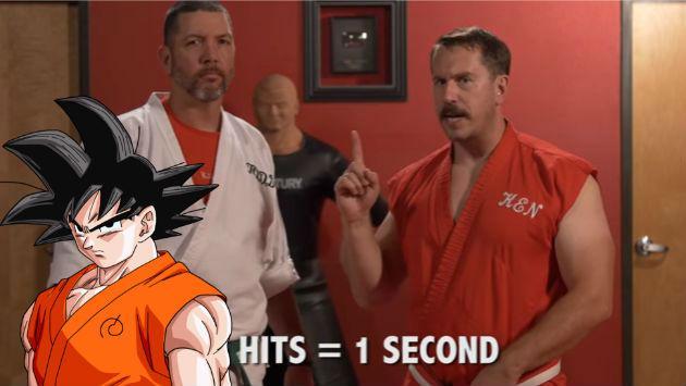 ¿Se pueden dar 100 golpes en un segundo a lo Gokú? Mira este video