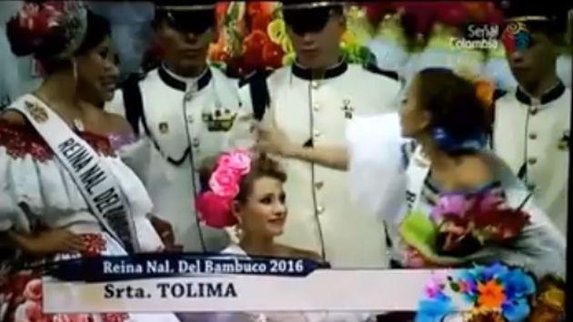 ¡Perdió concurso de belleza y se desquitó con la ganadora!