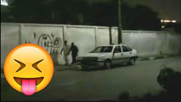 Si la broma del esqueleto a bordo de una moto te gustó, esta te encantará [VIDEO]