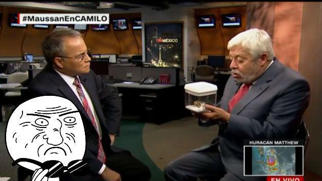 ¡El ufólogo más popular de México mostró en TV el supuesto cadáver de un extraterrestre!