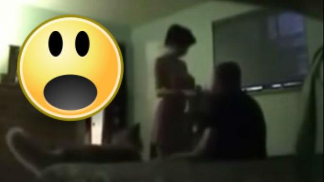 ¡Con las manos en la masa! Ocultó una cámara en su casa y encontró a su mujer con el...
