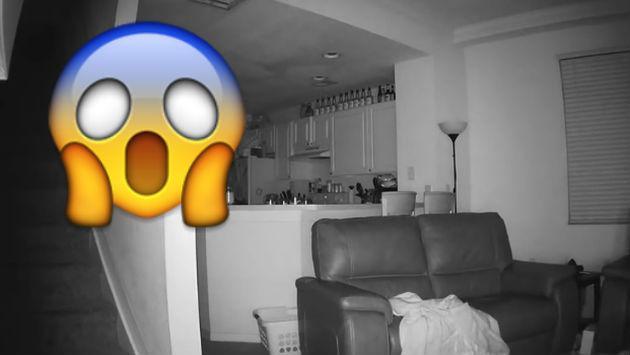 ¡Colocó cámaras de seguridad en su casa por extraños ruidos sin pensar que...!