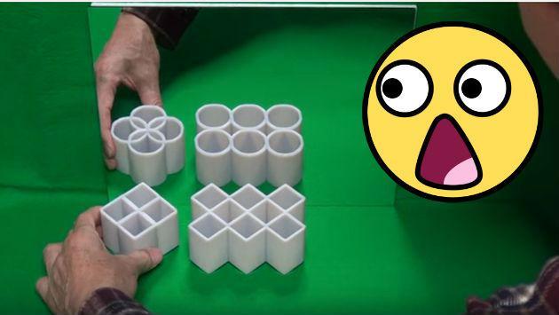¿Cilindros o cuadrados? ¿Te atreves a pasar esta prueba? [VIDEO]