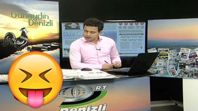 ¡Un gatito interrumpió un noticiero causando esta reacción en periodista!