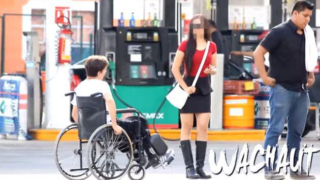 Lo rechazó por estar en silla de ruedas sin saber el 'secreto' que guardaba
