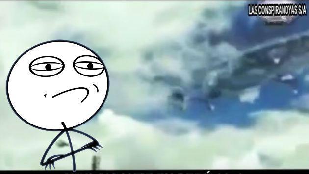 ¡No sean malos! ¿Este es el peor video sobre la existencia de 'ovnis' en Perú?
