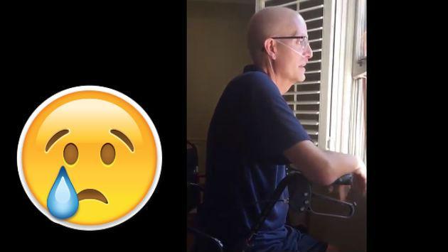 ¡Profesor diagnosticado con cáncer recibió esta emotiva sorpresa de sus alumnos!