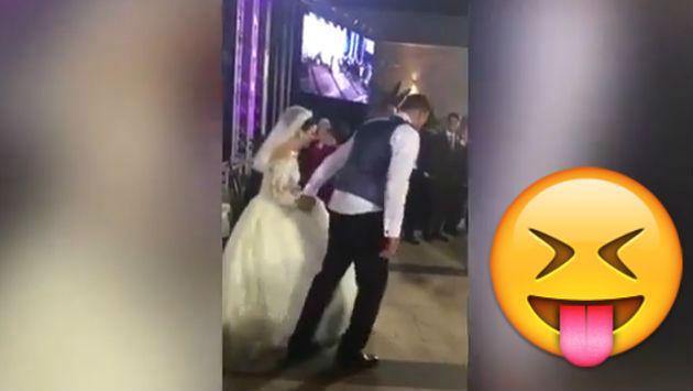 ¡Se lanzaron a la piscina en su fiesta de matrimonio sin saber la vergüenza que pasarían!
