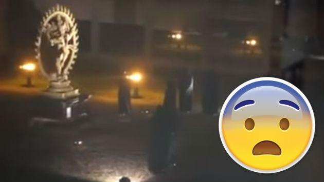 ¿Sacrificio humano fue grabado en el Centro Europeo de Investigación Nuclear? Mira este video