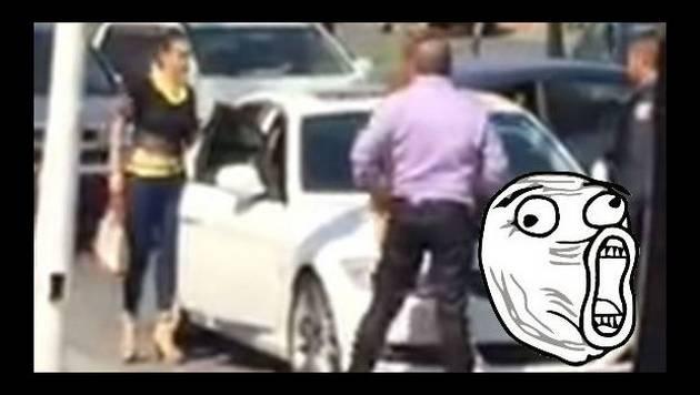 Encontró a su esposo con la 'trampa' y así reaccionó