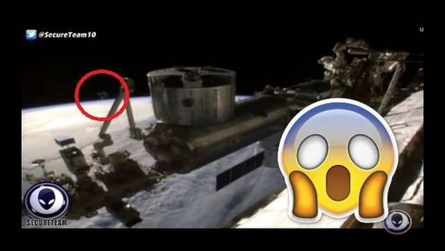 ¿La NASA cortó transmisión por aparición de OVNI? Mira este video