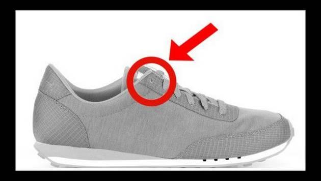 ¿Para qué sirve realmente el último agujero de la zapatilla?