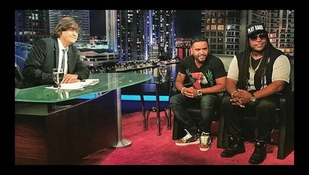 Zion y Lennox pasan por el programa de Jaime Baily
