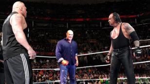 A la pelea de Goldber y Brock Lesnar en WWE se sumaría un nuevo personaje: el Undertaker