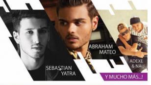 Adexe & Nau, Abraham Mateo y Sebastián Yatra, juntos en un mismo escenario