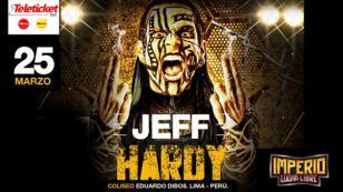¡Agárrense, que Jeff Hardy, exluchador de WWE, también viene a Perú!