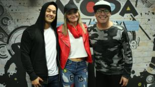 ¡Así fue la visita de Vicky Corbacho a El Show de Carloncho!