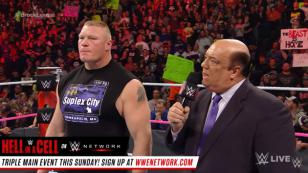 Brock Lesnar reapareció en WWE para responder a Goldberg [VIDEO]