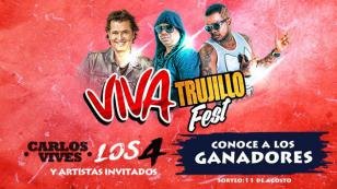 ¡Salieron los ganadores de las entradas para el 'Viva Trujillo fest' con Carlos Vives!