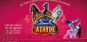 ¡Salió la lista de ganadores para el CIRCO ATAYDE!