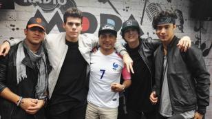 ¡Los chicos de CNCO visitaron MODA! [FOTOS Y VIDEO]