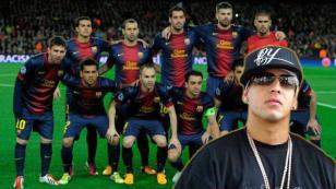 ¡Exfigura del Barcelona la rompe cantando este tema de Daddy Yankee!