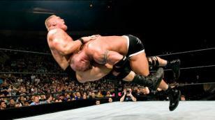 El récord que podría marcar Brock Lesnar en WWE si vence a Goldberg