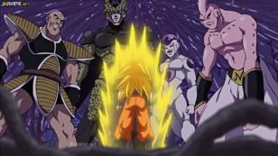 En 'Dragon Ball Super', Gokú volvió a enfrentar a Freezer, Cell y Majin Buu [VIDEO]