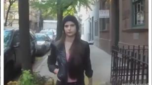 ¡Joven combatió el acoso callejero de esta forma! [VIDEO]