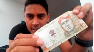 Este venezolano demostró que puede alimentarse todo un día con tan solo 10 soles (VIDEO)