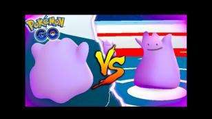 Esto pasa en 'Pokémon GO' si un Ditto pelea contra otro Ditto