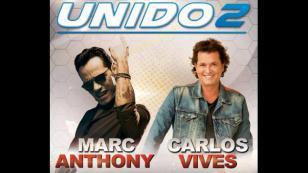 ¡Marc Anthony y Carlos Vives vuelven a Lima para el Unido2!