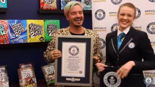 ¡J Balvin logró récord Guinnes con 'Ginza'!