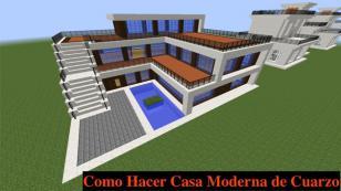 ¿Juegas 'Minecraft'? Mira cómo hacer una casa moderna [VIDEOS]