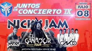 ¡Nicky Jam, CNCO y Sebastián Yatra estarán en el Juntos en concierto 9!