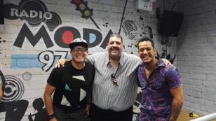 ¡Maelo Ruiz puso a bailar a Carloncho y Rencito! [VIDEO]