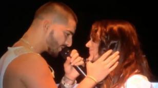 ¡Maluma se 'chapó' a la expareja de este cantante español!
