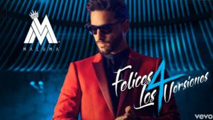 ¡Maluma sacó estas nuevas versiones de 'Felices los 4'!