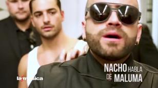 ¿Recuerdas la casi 'pelea' de Maluma y Nacho? Aquí la versión final