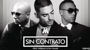¡Maluma, Don Omar y Wisin la rompen con el remix de 'Sin contrato'!