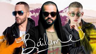¡Nacho prepara el remix de 'Báilame' con Yandel y Bad Bunny!