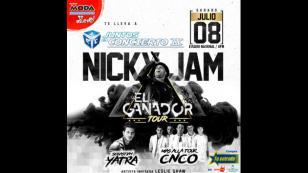 ¡Nicky Jam y CNCO estarán en el Juntos en concierto 9!