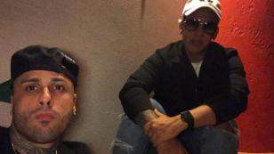 ¡Nicky Jam calienta su reencuentro con Daddy Yankee con esta foto!